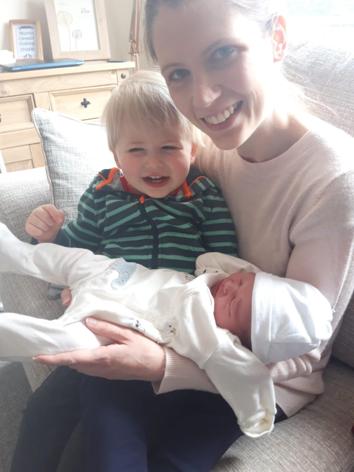 Beautiful Hypnobirthing Home Birth during Covid-19 Restrictions
